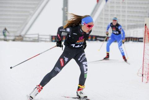 GOD: Guro Femsteinevik har ambisjonar om å kjempa i toppen i Kvalfoss-sprinten i år òg. Arkivfoto.