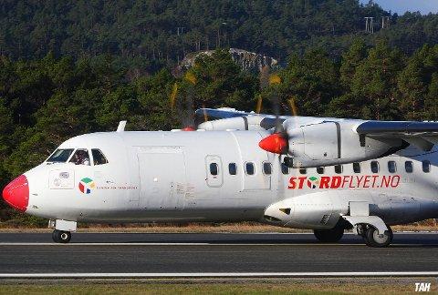 Frå og med måndag 10. august kan du igjen reisa med propellfly frå Stord. (Foto: Thomas Andre Hjelmen)