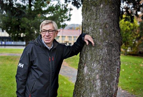 OFFENTLIGJØR SØKERLISTEN: Helge Evju er styreleder i Norsk Bergverksmuseum forteller at flere av søkerne som har trukket seg, ikke nødvendigvis har gjort det de siste dagene.