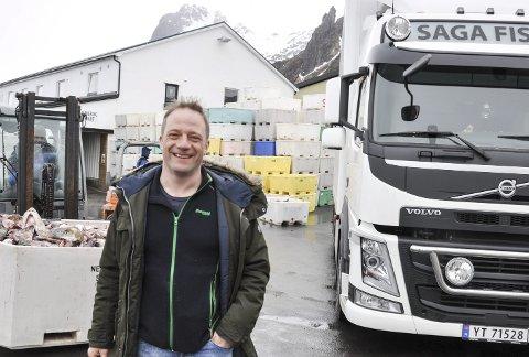 Satser: Erling Santi Falch i Falch Svolvær AS sier de ønsker å satse større i Henningsvær, og trappe ned på noe av virksomheten i Svolvær.