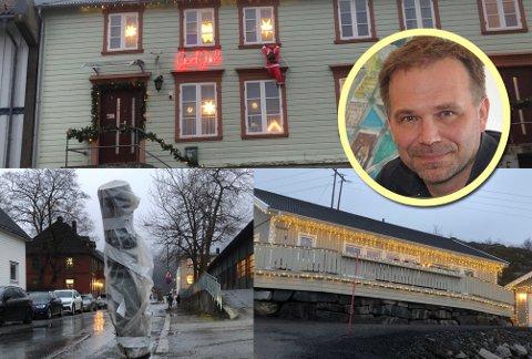 Mens innbyggerne i Lofoten konkurrerer om å dekke mest mulig av huset sitt med lyslenker og julepynt, står mørklagte gatelys og vitner om kommunal armod.