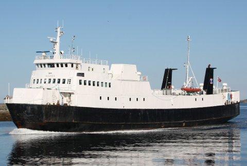 MF Bognes ble opprinnelig bygget i 1977, og har gått mellom Lofoten og Skutvik i mange år.