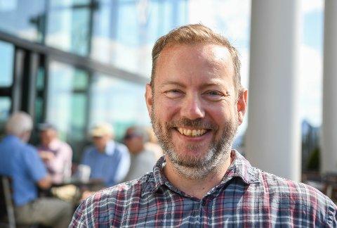Ny jobb: Christian Krüger Enge går fra jobben som kreativ leder i Aurora Borealis til markedssjef i Bjørback-Gruppen.