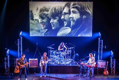 HELTENE: Fortunate Sons har en kjennskap til Creedence Clearwater Revival sin historie og musikk som overgår de fleste.