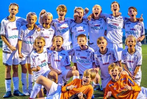 TIL TOPPS: HSVs G13-lag vant OBOS Cup.