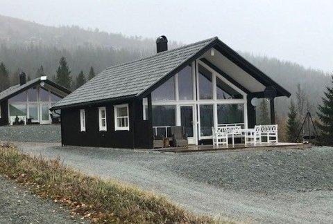 Pris 2,65 mill: Denne hytta på Bjørgan har en prisantydning på 2.650.000 kroner.