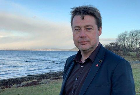 FOR TIDLIG: Trond Hoseth overtok som ordfører i Malvik etter at ordfører Ingrid Aune omkom i en ulykke 1. august i fjor. Han sier det er for tidlig å svare på om Giske bør bli ny fylkesleder i Trøndelag.