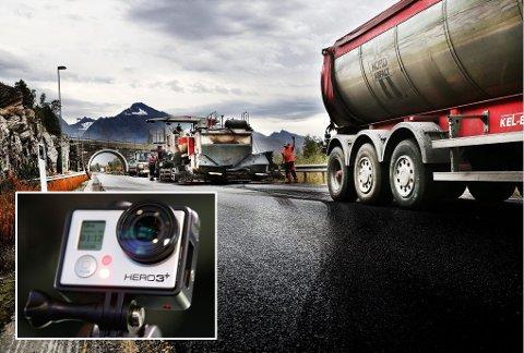 VIDEO-BEVIS: Statens vegvesen vurderer å utstyre lederbilene med  kamera for å ta de verste bøllene.