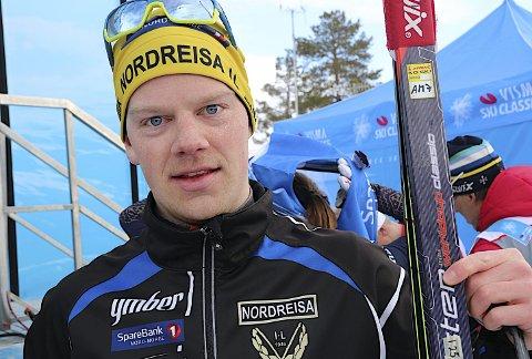 Håkon Mikalsen ble best av de lokale løperne i Reistadløpet. Nå håper han på et nordnorsk langdistanselag. Foto: Stein Wilhelmsen