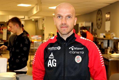 NY MANN: Ungarske Andras Gango er TILs nye keepertrener for A-laget. Han skal beholde jobben som keepertrener for U21-landslaget til Færøyene mens han er innlånt av TIL frem til sommeren.
