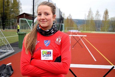 TIL NOM: Telma Eid deltar i Nordisk mesterskap i mangekamp i Finland i juni. Arkivbilde