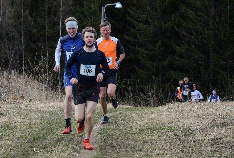 Petter Soleng Skinstad i tet allerede etter 500 meter.