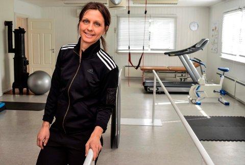 ODNES FYSIOTERAPI: - Jeg er blitt veldig godt mottatt her, sier Lotte Thyssen Baricic, som i mars i år etablerte Odnes Fysioterapi som privat praksis med kommunalt driftstilskudd.