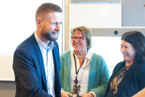 ETTERLENGTET: Helseminister Bent Høie varsler sykehusavgjørelse neste uke