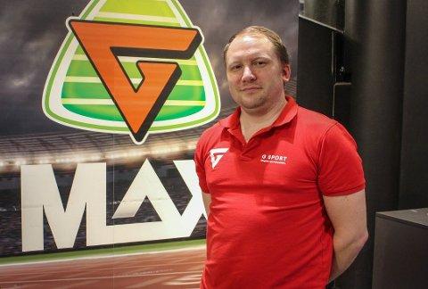 VAREHUSSJEF: Tidligere i måneden sier Erik Van Wijk Kjelstad at han vil drifte som vanlig inntil annen beskjed blir gitt.