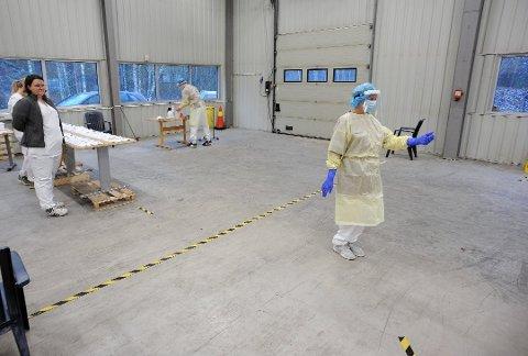 NYE: Mandag ble det bekreftet ni nye smittetilfeller i Nordre Follo.