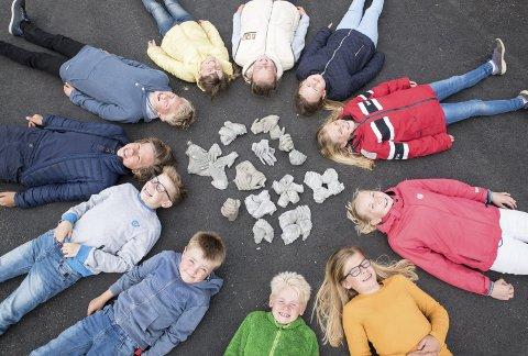 Berg-elevenes markering av vis: På Berg skole har elevene markert VIS gjennom prosjektet «Hender og venner» og gjennom aktiviteter som det de kaller «dyredag».