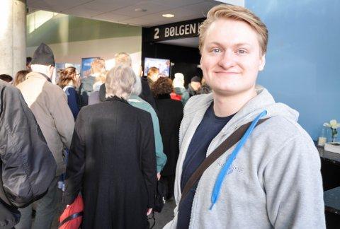 FILMHEKTA: Torbjørn Kristensen begynte å gå på matinéklubben for et års tid siden. I 2020 har han som mål å få med seg visningene hver søndag.