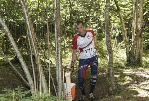 HAR TILLIT: Magne Dæhli fikk det ikke til på mellomdistansen under VM i orientering, men torsdag skal han igjen løpe siste etappen på stafetten i VM. FOTO: ERIK BORG