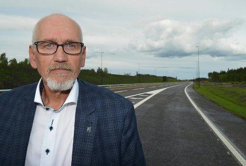 FORNØYD: Guttorm Tysnes, regionsjef i Norges Lastebileier-Forbund Innlandet.