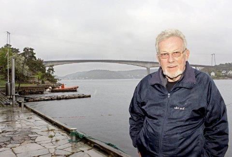 Politiker Steinar Gullvåg gleder seg til å dele ut millioner til lokale tiltak.