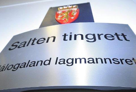 DOM: Ranamannen fikk tirsdag dommen i Salten tingrett. Foto: Hugo Charles Hansen