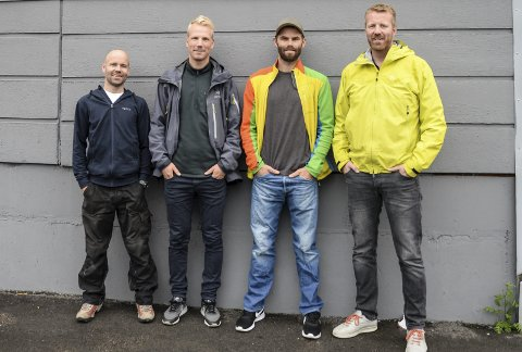 Mirada: (F.v.) Trond Vassvik Snefjellå, , Ole Martin Krokstrand, Bjørn Einar Hansen og Arne-Martin Lantz-Juløy.