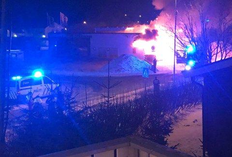 Brannen kostet 12 millioner kroner. Prix-butikken i Rønvika lå brakk i flere måneder under oppsussing.
