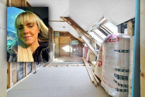 KJØPER: Det var 20 år gamle Hanna Linnea Kristensen som kjøpte toppleiligheta i Kirkegata 31. Og hun har planen klar.