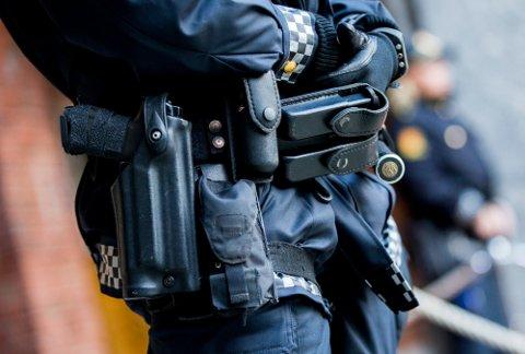 Politiet valgte å bevæpne seg på en aksjon onsdag, men det viste seg å være en person med luftgevær.