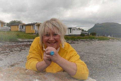 - De elsker camping, sier Nina Rødahl Friis om kjøperne av Havblikk.