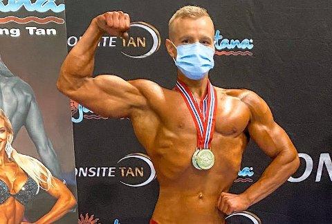 Veltrent: Stian Tangen er i norgestoppen i Classic bodybuilding.