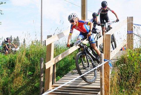 Støtter aktivitet: Sykkelanlegget på Veldre Sag har fått nær 400.000 kroner i støtte.