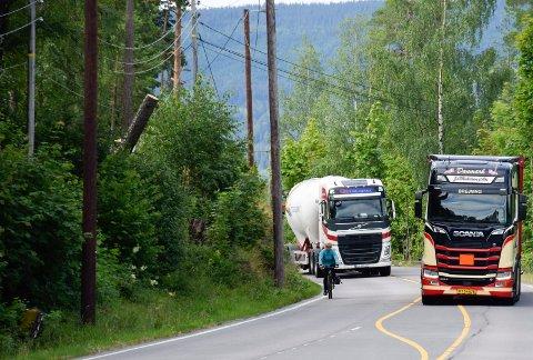 Utstranda stenges for trafikk fra 7. april til 1. juni.