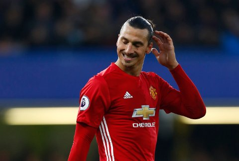 """Britain Soccer Football - Chelsea v Manchester United - Premier League - Stamford Bridge - 23/10/16 Manchester United's Zlatan Ibrahimovic looks dejected at the end of the match  Reuters / Eddie Keogh Livepic EDITORIAL USE ONLY. No use with unauthorized audio, video, data, fixture lists, club/league logos or """"live"""" services. Online in-match use limited to 45 images, no video emulation. No use in betting, games or single club/league/player publications.  Please contact your account representative for further details."""
