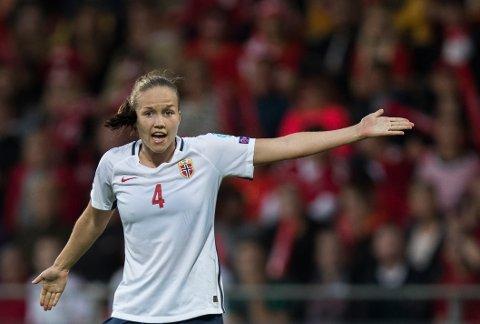 Guro Reiten gjorde en forholdsvis god figur da Norge tapte 0-1 mot Danmark i fotball-EM mandag.