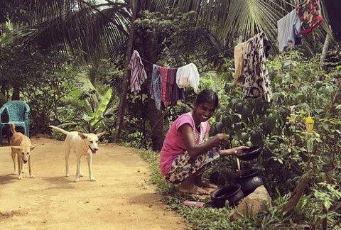 Blir kjent: Anja Leela Hageler har blant annet en søster på Sri Lanka. FOTO: PRIVAT
