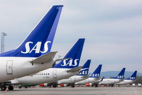 SAS lanserer fem helt nye destinasjoner, blant annet en direkterute til Valencia fra Oslo og til Barcelona fra Bergen.  Foto: Ole Berg-Rusten (NTB scanpix)
