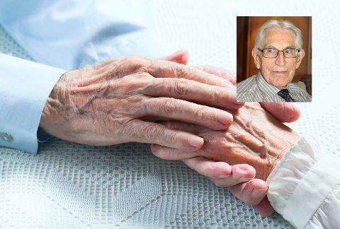 Etter Knut Gjertsens syn (innfelt) bør løsningen være små enheter i de dementes nærmiljø.