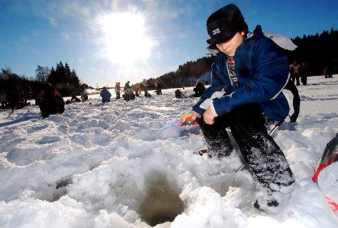 Det kan bli folksomt på Goksjøisen førstkommende søndag. Fiskeklubben Pimpel Sør arrangerer åpen fiskekonkuranse med innlagt fylkesmesterskap for alle aldersgrupper.