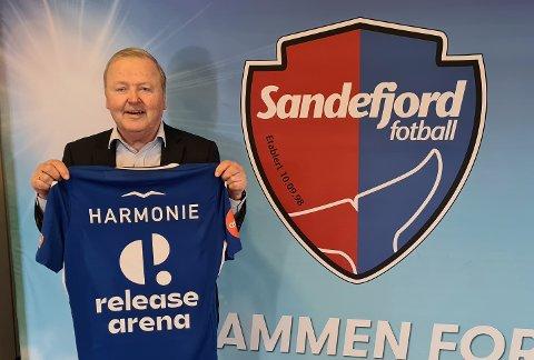 NYTT NAVN: Øistein Eriksen er mann bak navnet Release Arena. 68-åringen har lang erfaring fra mobilselskaper, og enda lenger historie med Sandefjord.