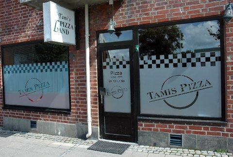 FIKK BESØK: Tami Pizzaland med innehaver Ben Ahmed Allal fikk nylig et uanmeldt besøk av kontrollørene til Mattilsynet.