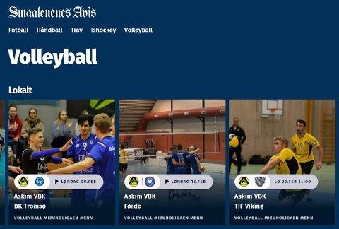 Med Direktesport-appen får du tilgang til tusenvis av idrettsarrangementer fra hele landet, og du kan både se sendingene direkte og i opptak.