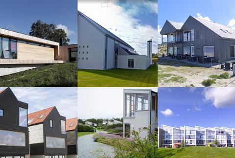 Her er noen av de elleve bygningene som har fått plass i kommunens kulturminneplan.
