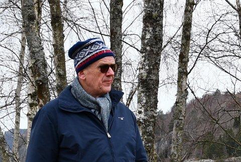 KAN PÅVERKA: Ordførar Bjørn Laugaland meiner bøndene som bur og driv gardar under den nye kraftlinja må vera på banen når Lyse skal laga MTA-plan.