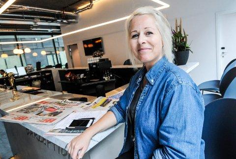 ORDNER OPP: Lene Ellefsen har ansvar for kurs og konferanse på det nye hotellet i Porsgrunn.