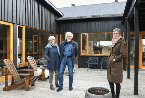 Ingebjørg og Lars Jacob Moe forteller at de er veldig fornøyde med jobben sivilarkitekt Dagfrid Bråtane ved Trafo Arkitektur har utført.