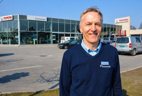 SOLGT: Egil Funnemark selger selskapet til Bilia og Bauda.