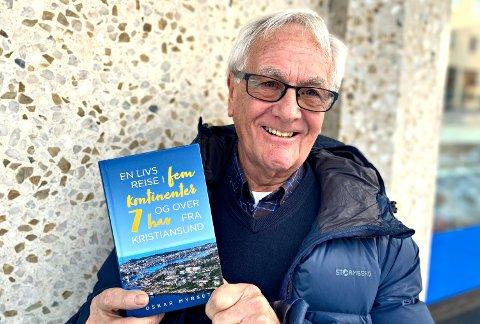 Oskar Myrseth fra Kristiansund har skrevet bok om sitt yrkesliv med sjøen som fellesnevner.