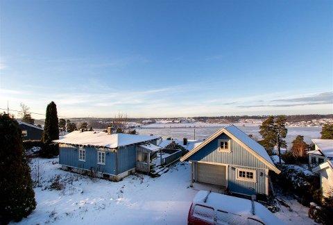 VESTSKOGEN: Denne meget enkle boligen gikk solid over prisantydning.